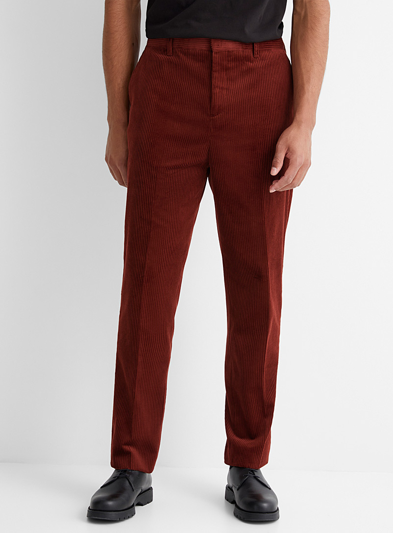 Eco-friendly corduroy pant  Reykjavik fit - Anti-fit