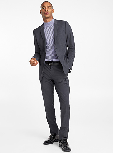 Minimal stretch jacket  London fit - Semi-slim