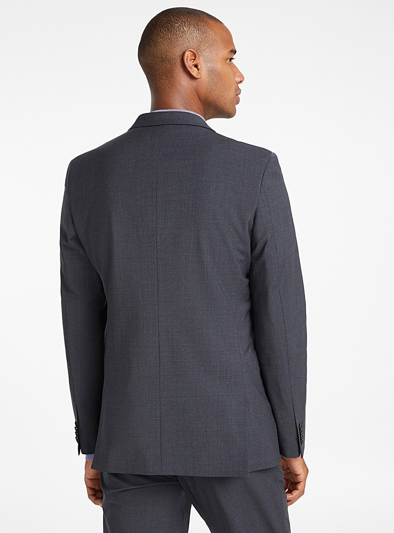 Monochrome stretch jacket  London fit - Semi-slim - Suit Separates - Grey