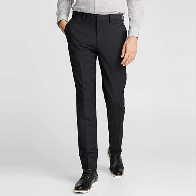 le-pantalon-monochrome-extensible-coupe-london-droite-etroite