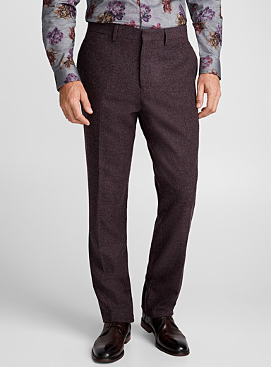 Plum Donegal pant  Berlin fit - Straight