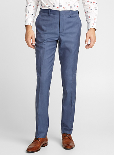 Blue horizon chambray pant  Stockholm fit-Slim