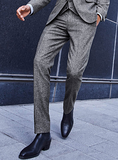 Donegal ashy pant <br>London fit-Slim straight