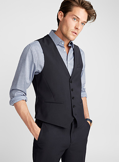End-on-end vest  London fit-Semi-slim