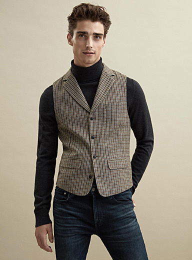 La veste tweed anglais  Coupe London - Semi-ajustée