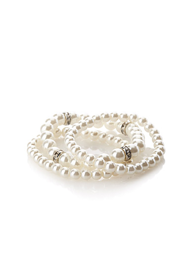 Pearl elastics  Set of 3