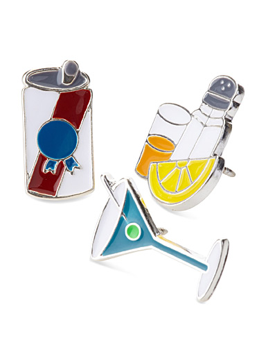 Drinks pins  Set of 3