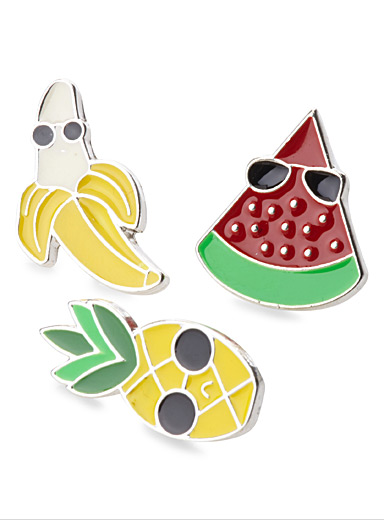 Fruity pins  Set of 3