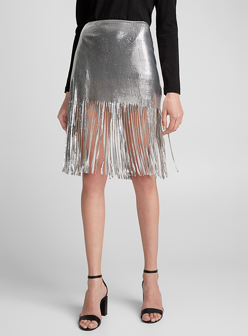 metal-fringed-skirt