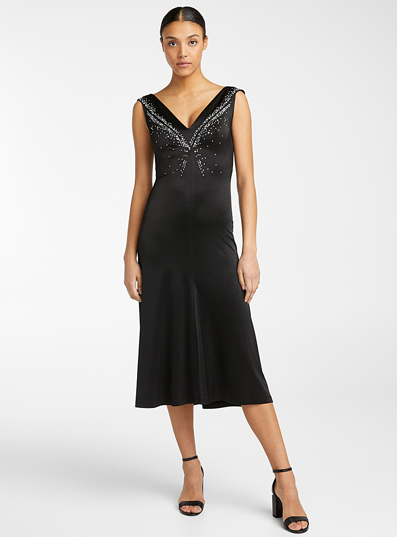 Paco Rabanne Black Crystal dress for women