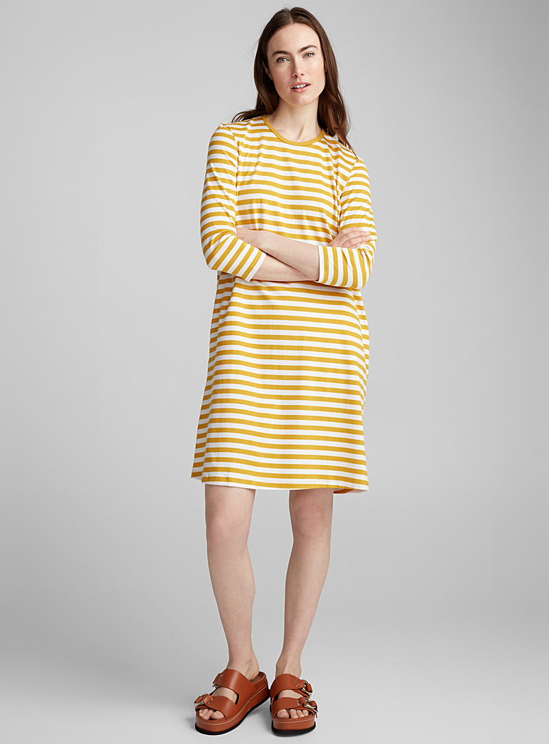 Marimekko Medium Yellow Aretta dress for women
