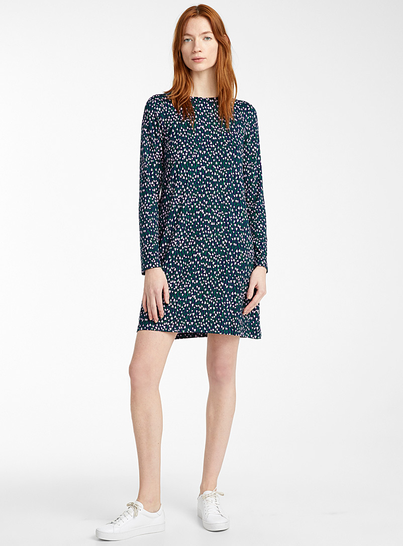 Marimekko Patterned Blue Huokaus Tahtiniitty dress for women