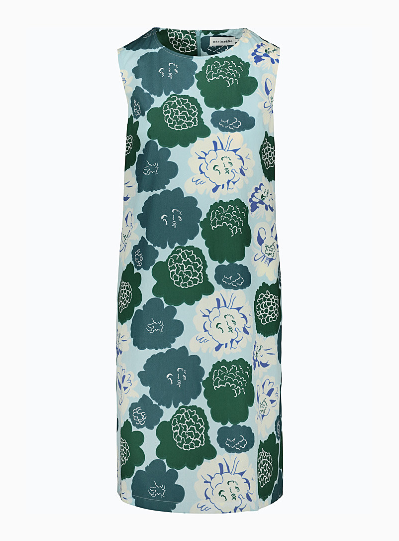 Marimekko Blue H?ive Pieni Pioni dress for women