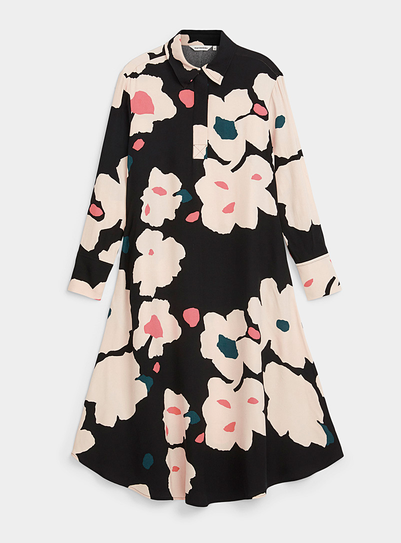 Marimekko Assorted Arkussiini Liito crepe dress for women