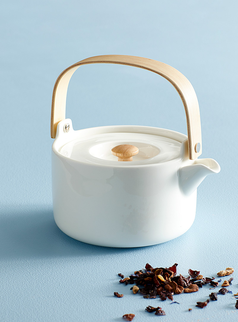 Marimekko White Oiva white teapot for women