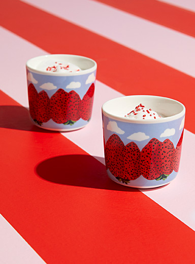Mansikkavuoret small cups Set of 2