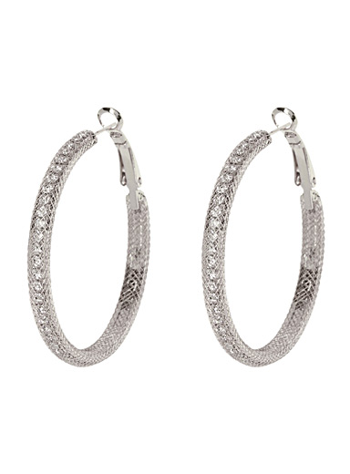 Crystal trap hoops