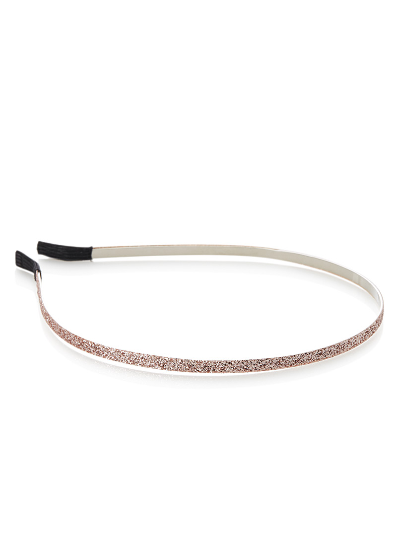Fine sequin headband - Headbands - Pink
