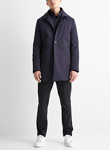 Le trench techno extensible