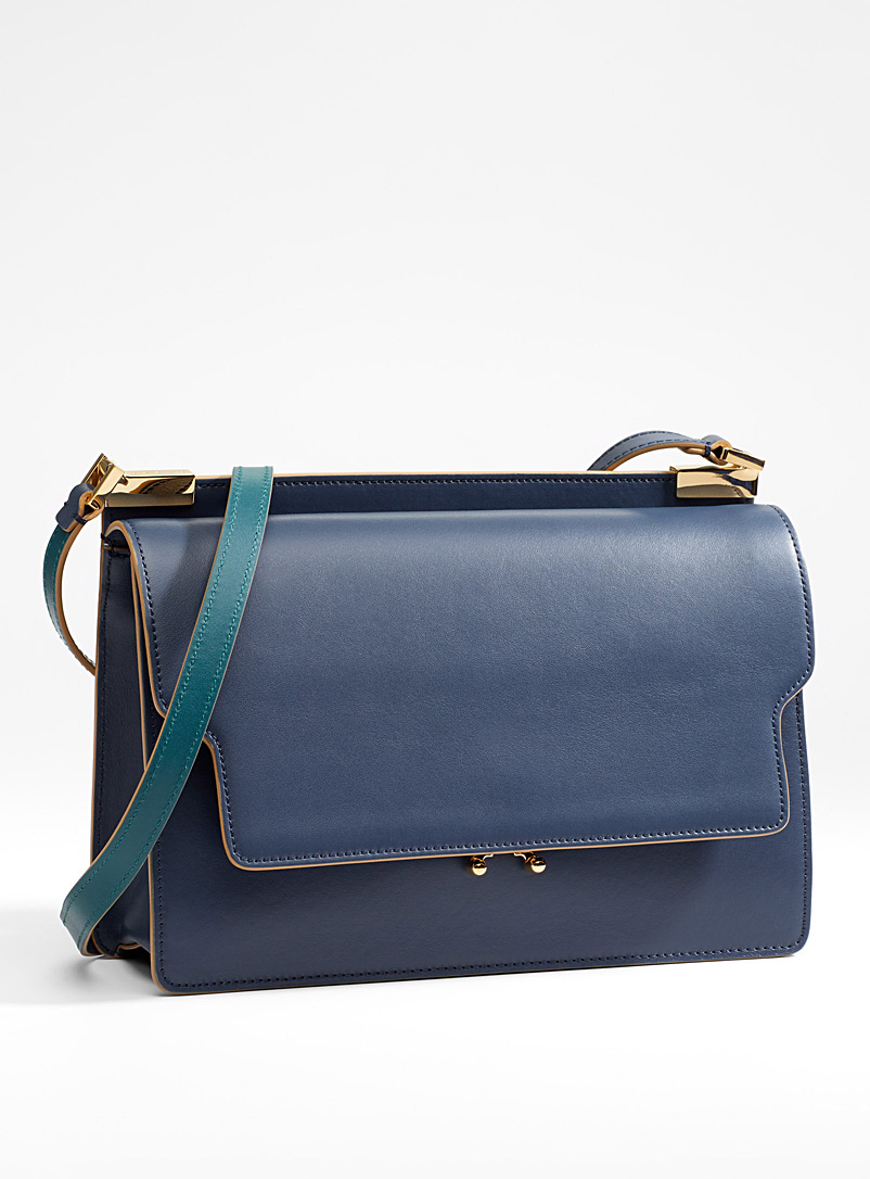 Trunk tricolour bag - Marni - Dark Blue