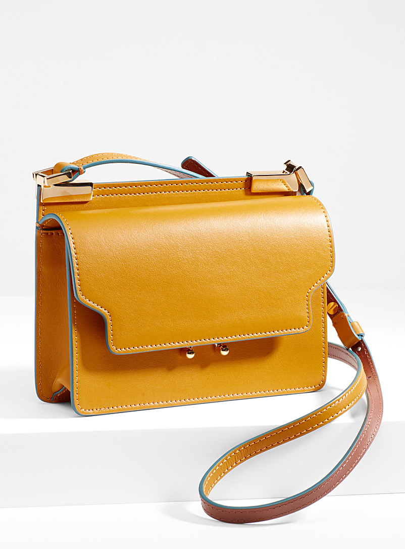 Trunk tricolour bag - Marni - Golden Yellow