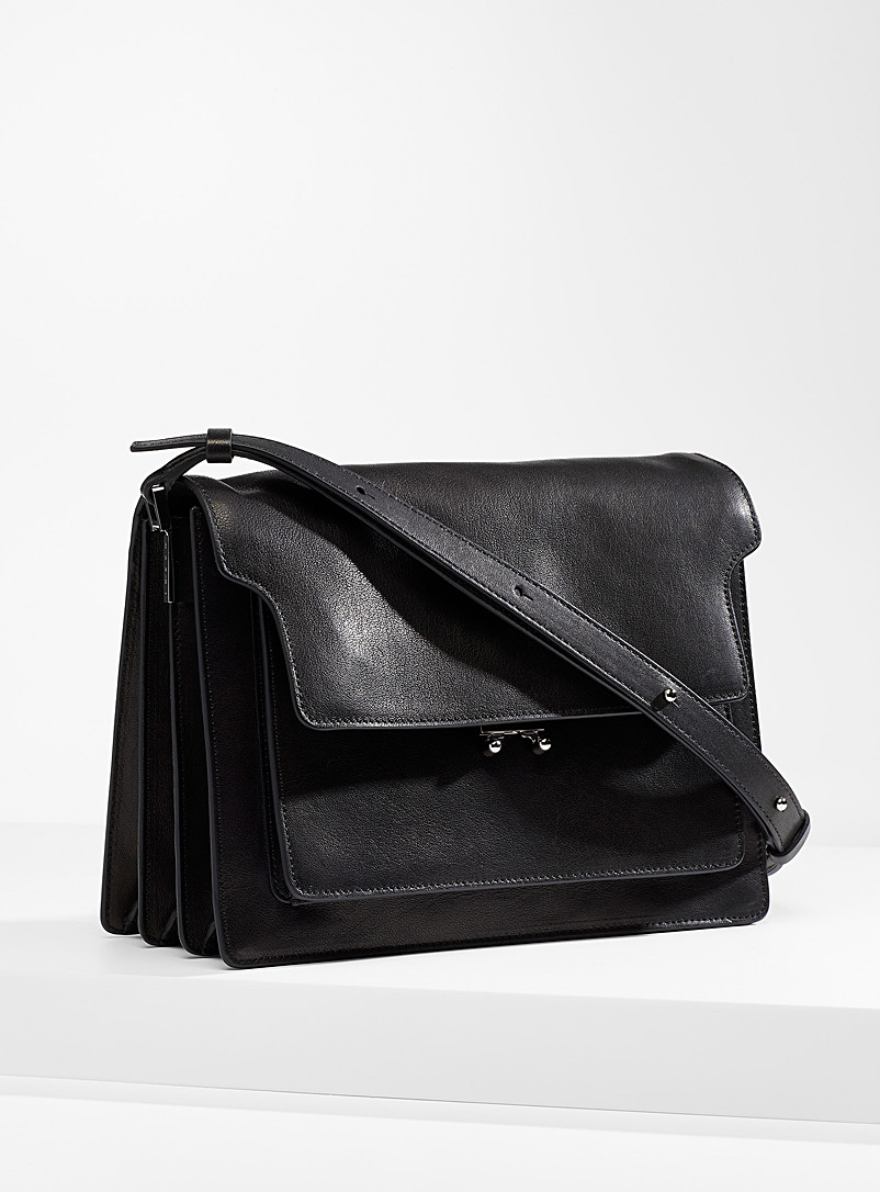 MARNI Black Trunk shoulder bag for women