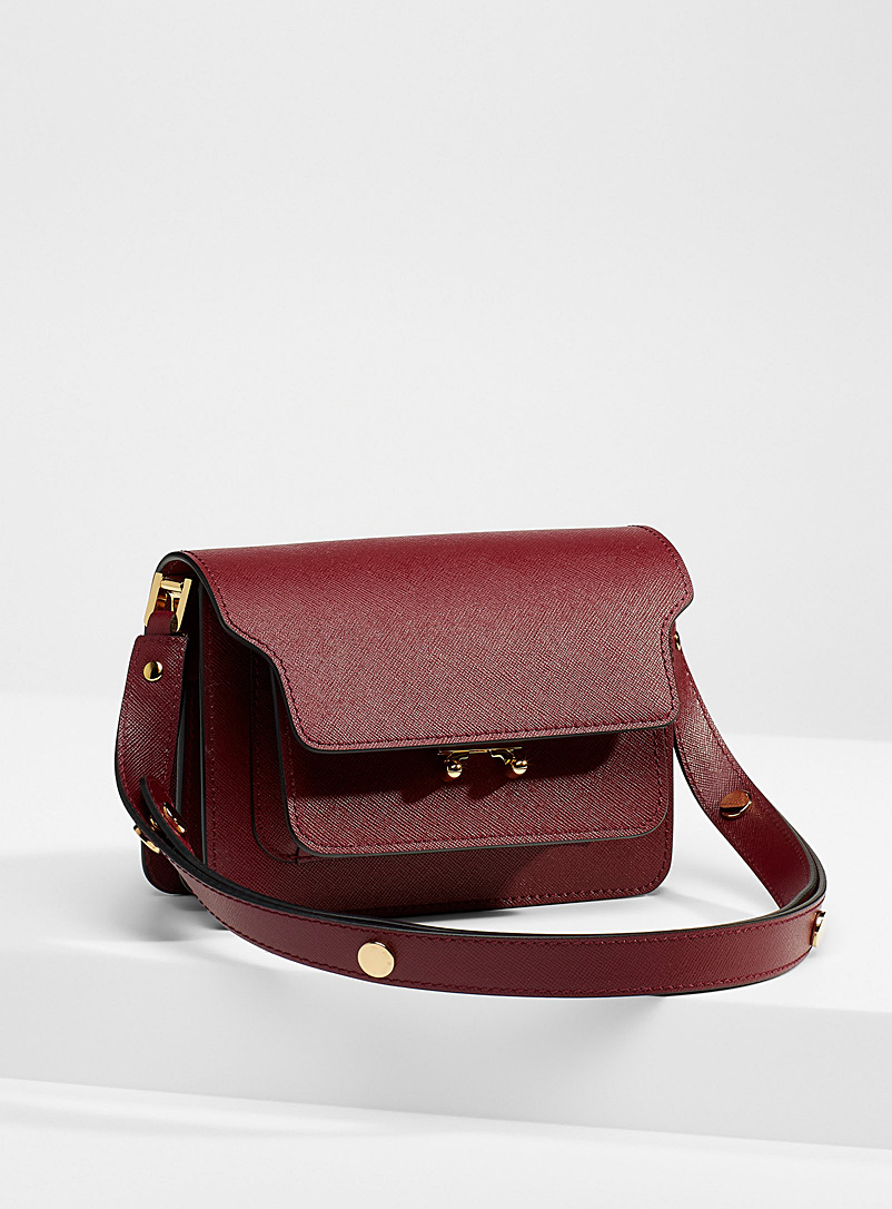 MARNI Ruby Red Mini Trunk bag for women