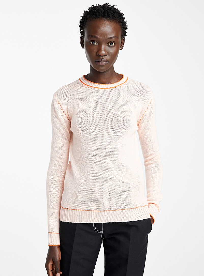MARNI Dusky Pink Light Pink sweater for women