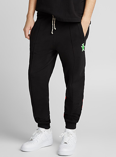 Contrast band joggers
