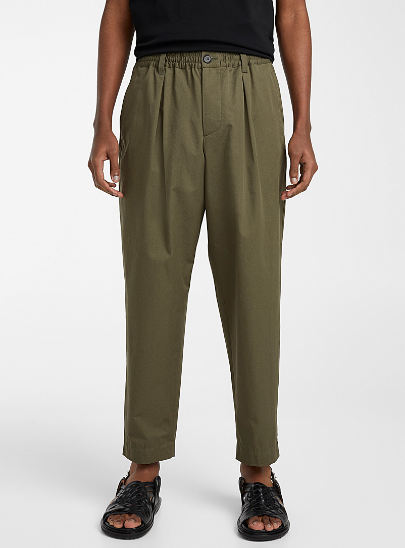 MARNI Green Military-style pant for men