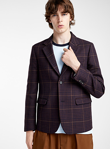 Le veston Windowpane