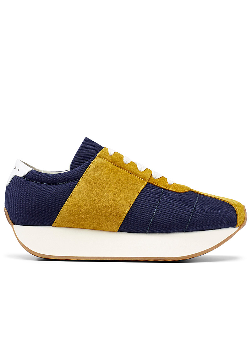 Bigfoot sneakers - Marni - Patterned Blue
