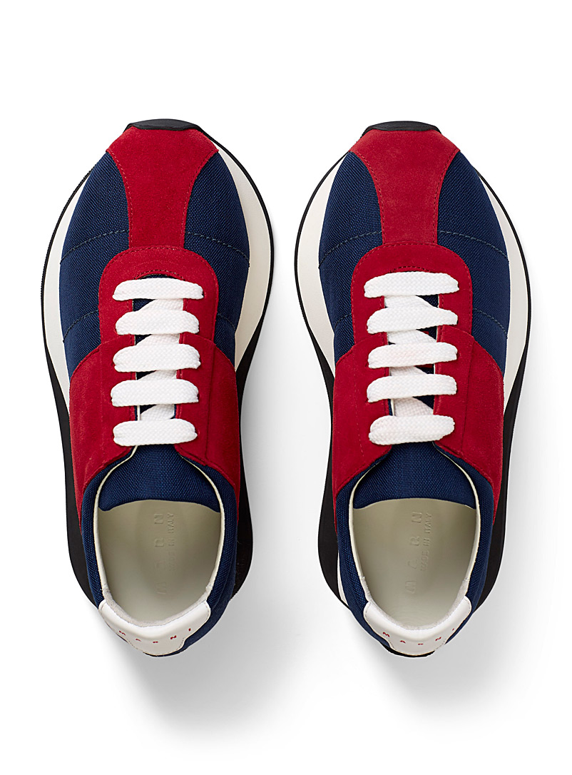 MARNI Blue Big Foot sneakers for men