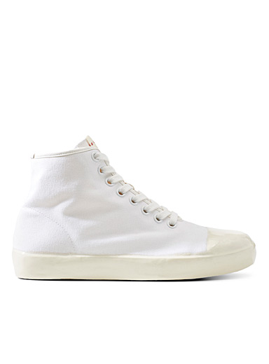 Dipped sole high top sneakers  Men