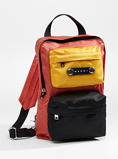 Multicolour backpack