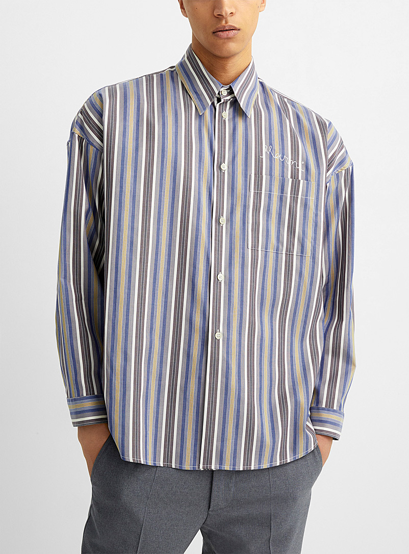 MARNI Assorted Long sleeve striped shirt for men
