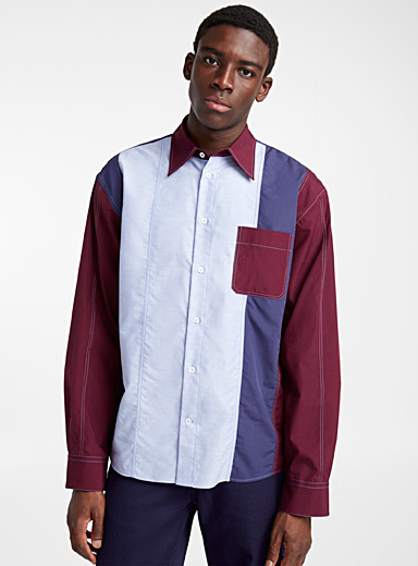 La chemise Color Block