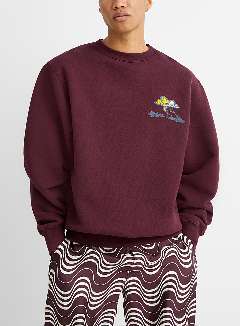 MARNI Ruby Red Tornado sweatshirt for men