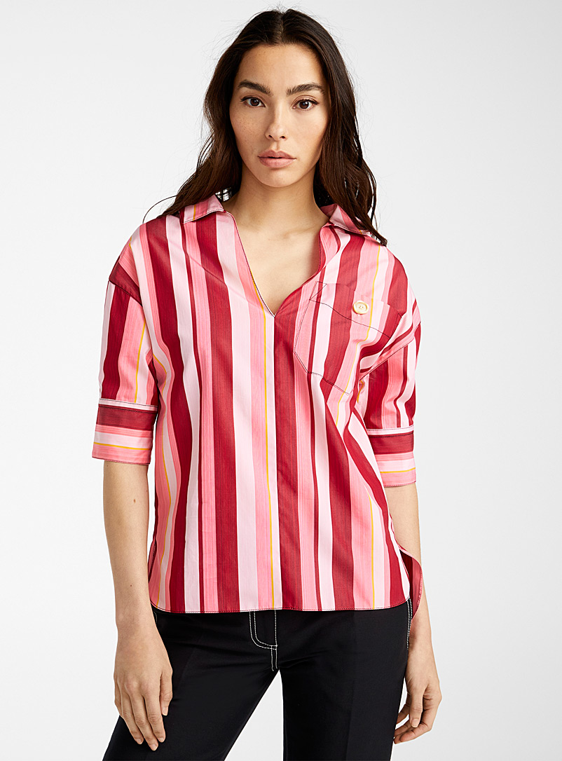MARNI Pink Cinder Rose blouse for women