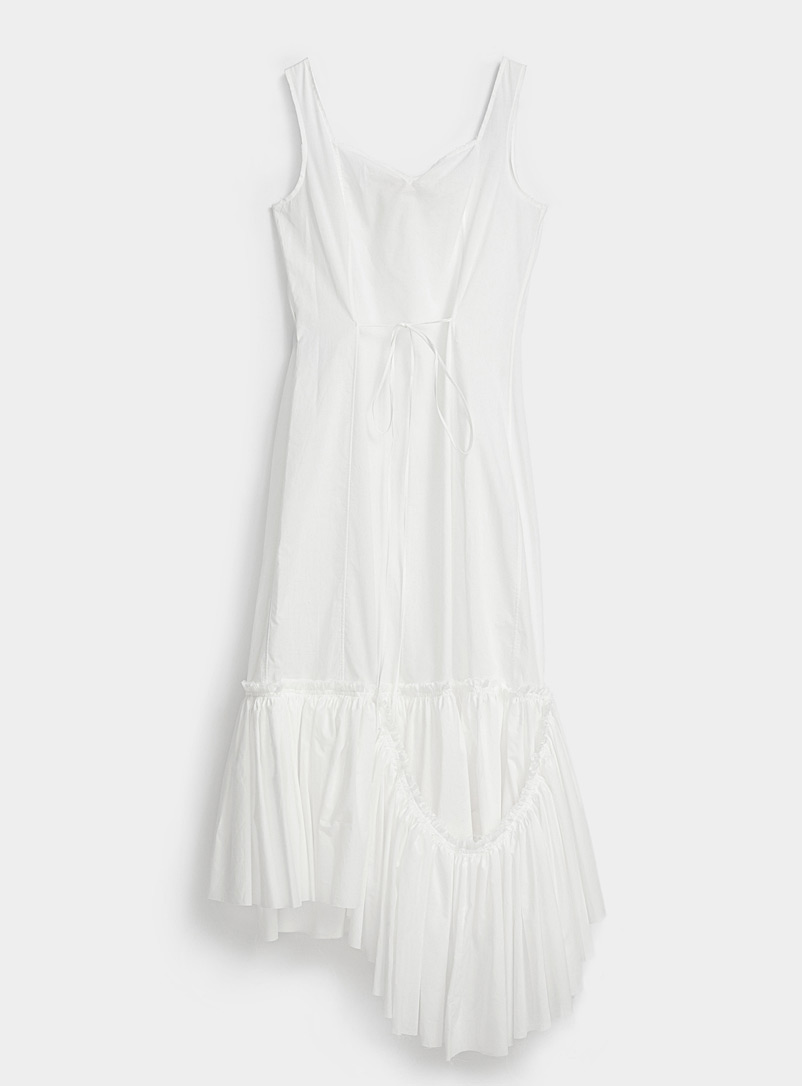 MARNI Ivory White Lily dress for women