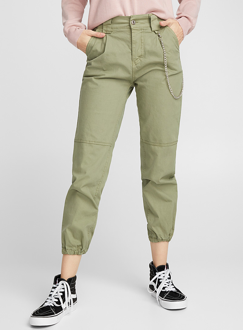 Chain cargo joggers - Joggers - Green