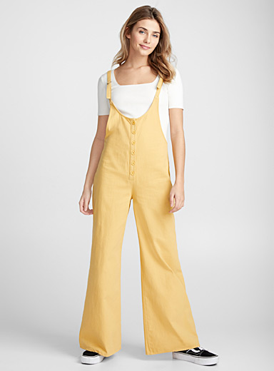 Sunny yellow jumpsuit