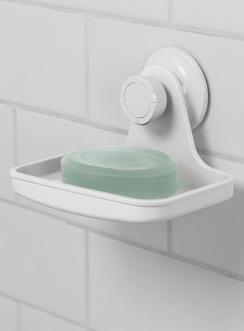 Flex shower soap dish - Accessories & Wastebaskets - White