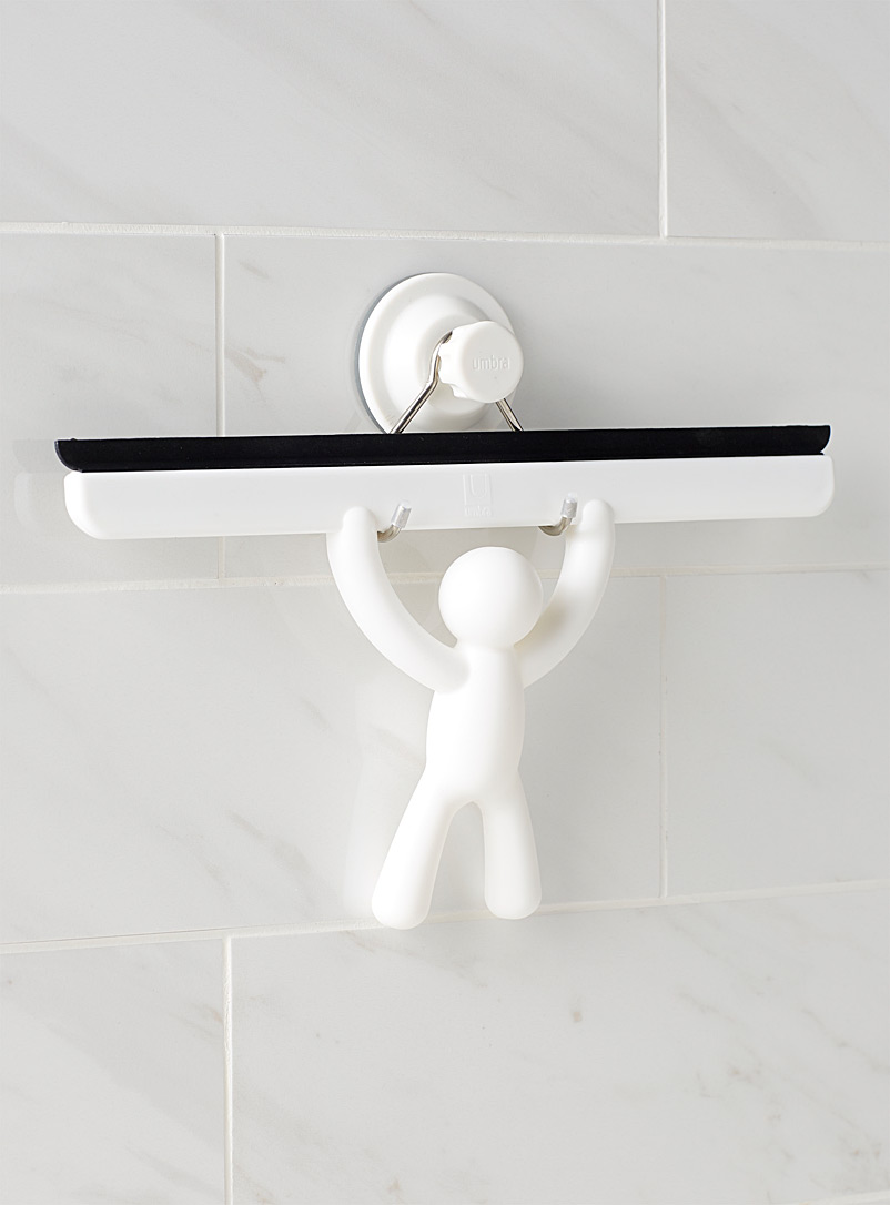 Umbra White Buddy squeegee