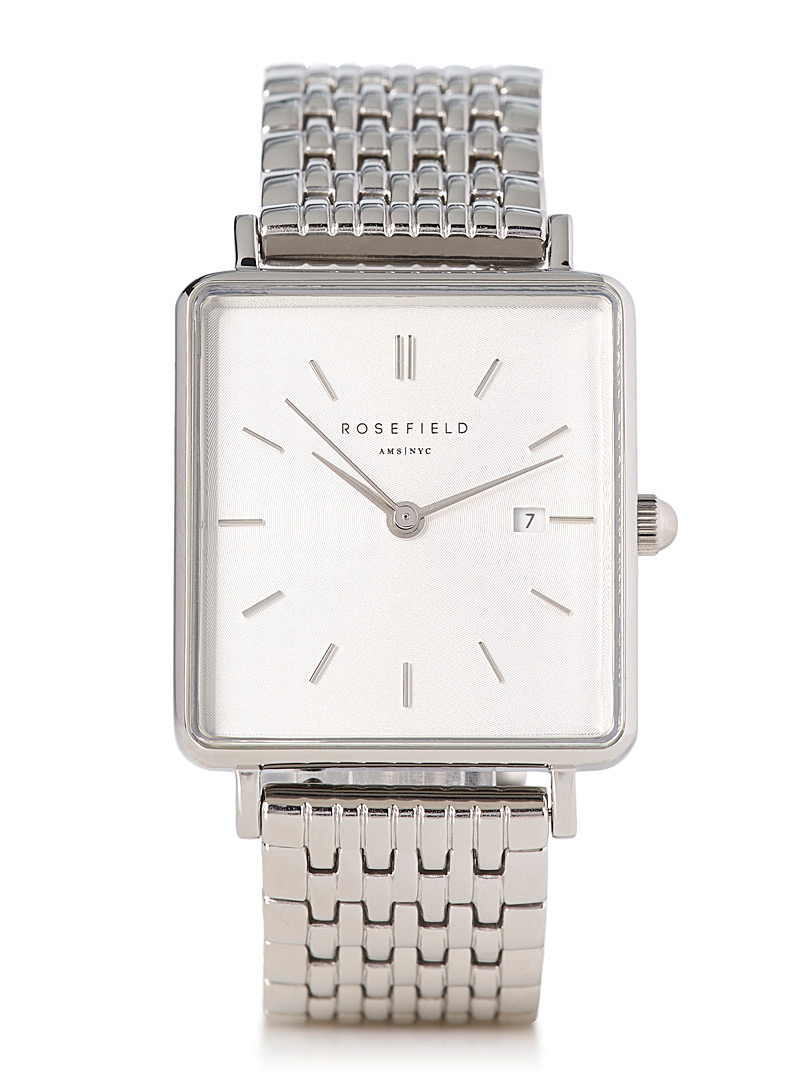 The Boxy silver watch - Watches - Assorted