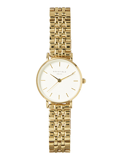 Small Edit two-tone watch