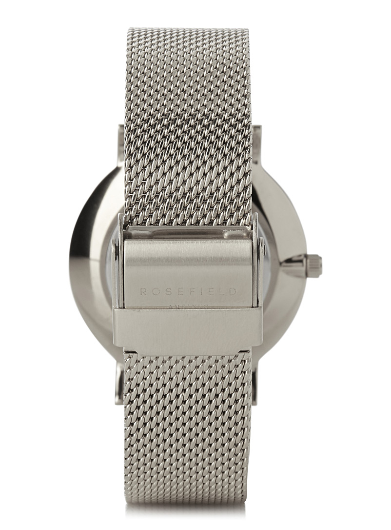Tribeca mesh watch - Watches - Silver