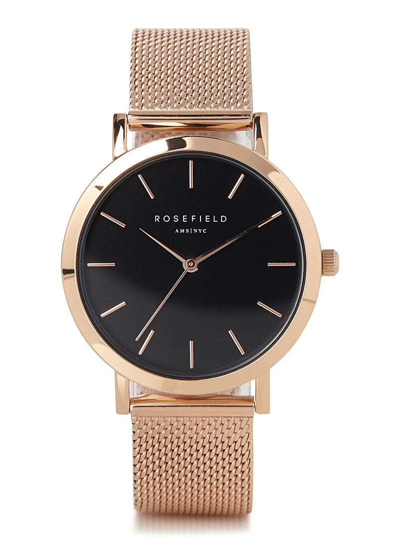Rosefield: La montre filet Tribeca Assorti pour femme
