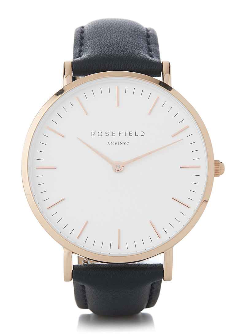 Rosefield Oxford Bowery watch for women