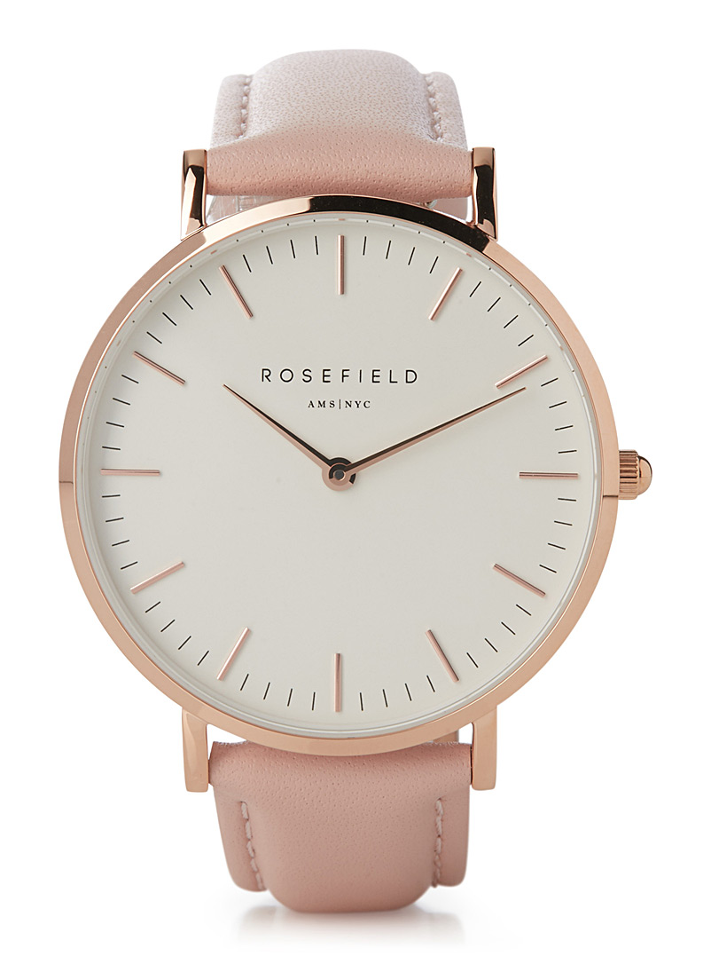 Bowery watch - Watches - Dusky Pink